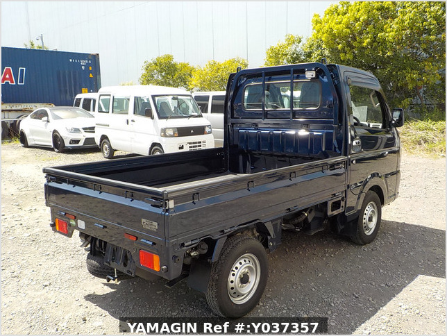 It is a picture of the blue suzuki carry truck in 2019,Sub Photo 2 Stock No.Y037357