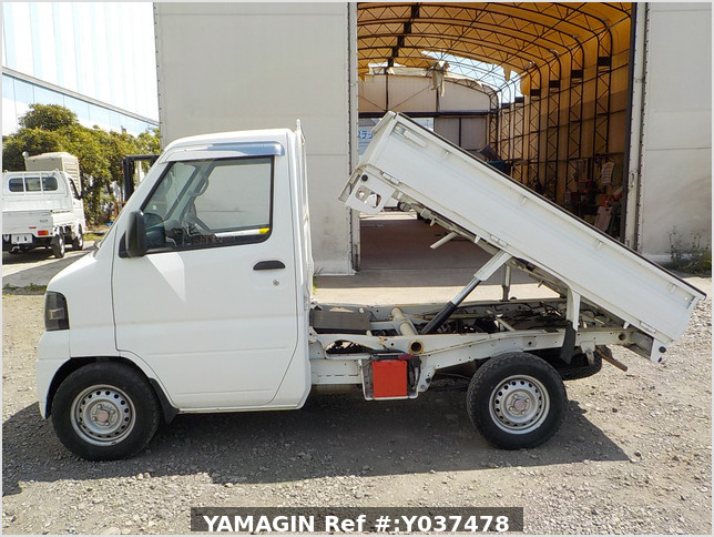 It is a picture of the white mitsubishi minicab dump in 2010,Sub Photo 6 Stock No.Y037478