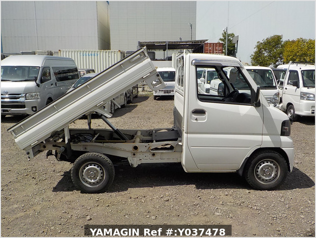 It is a picture of the white mitsubishi minicab dump in 2010,Sub Photo 0 Stock No.Y037478