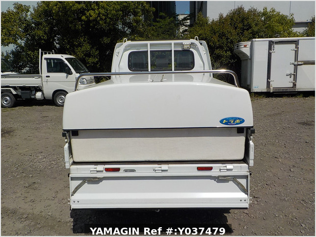 It is a picture of the white suzuki carry  truck in 2016,Sub Photo 4 Stock No.Y037479