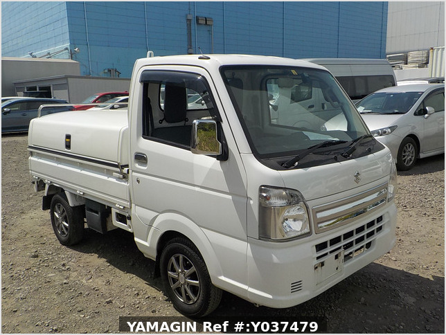 It is a picture of the white suzuki carry  truck in 2016,Sub Photo 0 Stock No.Y037479