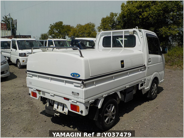 It is a picture of the white suzuki carry  truck in 2016,Sub Photo 2 Stock No.Y037479