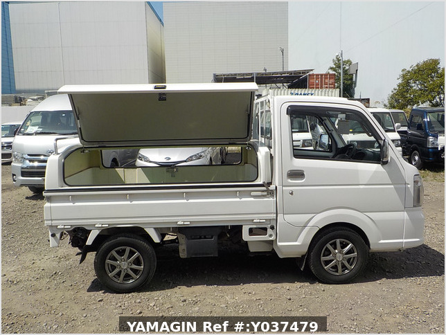 It is a picture of the white suzuki carry  truck in 2016,Sub Photo 6 Stock No.Y037479
