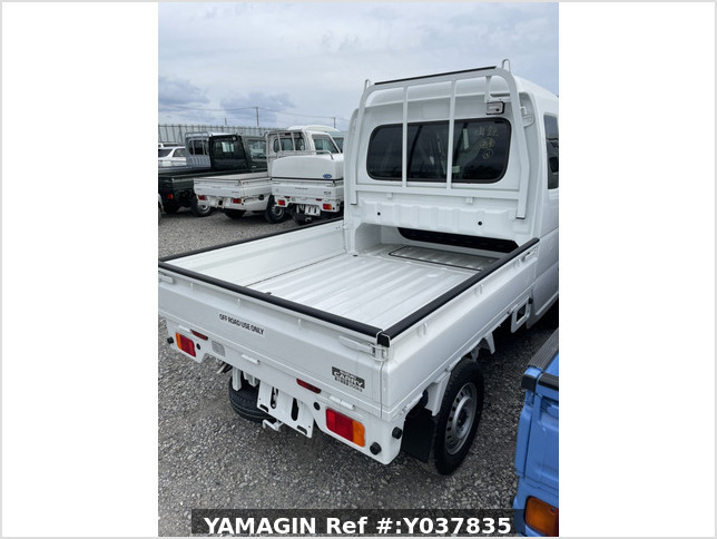 It is a picture of the white suzuki carry jumbo in 2021,Sub Photo 2 Stock No.Y037835