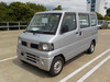 It is a picture of the silver nissan clipper passenger van in 2005,Sub Photo 1 Stock No.Y037869