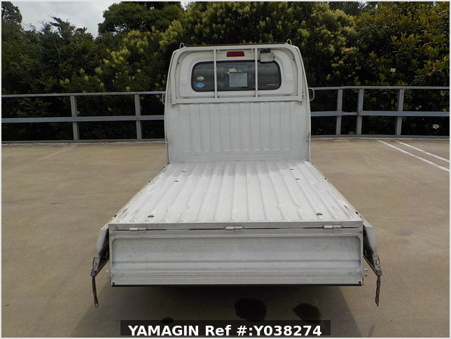 It is a picture of the white mitsubishi minicab truck in 2005,Sub Photo 5 Stock No.Y038274