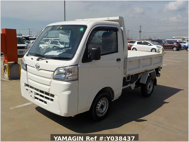 It is a picture of the white daihatsu hijet  dump in 2016,Sub Photo 2 Stock No.Y038437