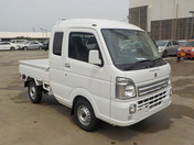It is a picture of the white suzuki carry  jumbo in 2020,First Photo Stock No.Y038548