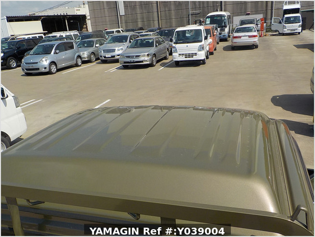 It is a picture of the green daihatsu hijet jumbo in 2017,Sub Photo 5 Stock No.Y039004