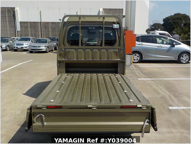 It is a picture of the green daihatsu hijet jumbo in 2017,Sub Photo 4 Stock No.Y039004