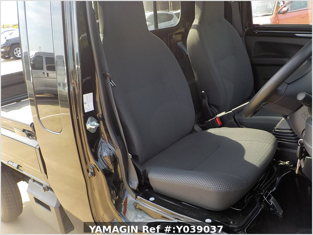 It is a picture of the black daihatsu hijet jumbo in 2016,Sub Photo 6 Stock No.Y039037