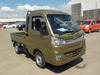 It is a picture of the  khaki  daihatsu hijet jumbo in 2021,Sub Photo 0 Stock No.Y039120