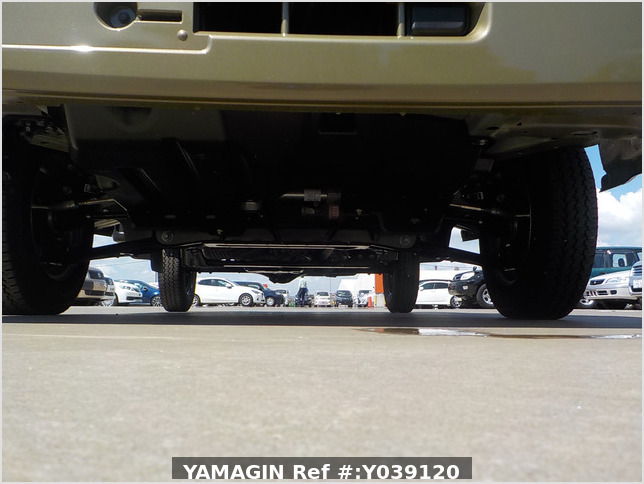 It is a picture of the  khaki  daihatsu hijet jumbo in 2021,Sub Photo 15 Stock No.Y039120