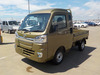 It is a picture of the  khaki  daihatsu hijet jumbo in 2021,Sub Photo 1 Stock No.Y039120