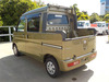 It is a picture of the  khaki  daihatsu hijet deck van in 2017,Sub Photo 2 Stock No.Y039182