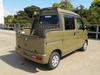 It is a picture of the  khaki  daihatsu hijet deck van in 2017,Sub Photo 4 Stock No.Y039182