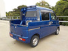 It is a picture of the blue daihatsu hijet deck van in 2005,Sub Photo 4 Stock No.Y039906