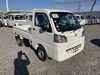 It is a picture of the white daihatsu hijet truck in 2021,Sub Photo 0 Stock No.Y040150
